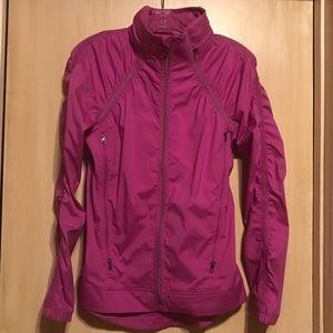 Lululemon Athletic Hot Pink Jacket: 6
